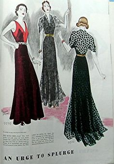 McCall's Magazine, Dec 1937 featuring McCall 9523 by Alix and 9510