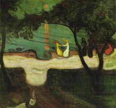 Dance on the Beach (1904) - Edvard Munch