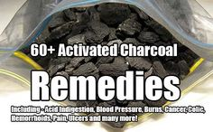 60+ Activated Charcoal Remedies. Activated charcoal has so many wonderful uses around the home, garden and body! See why you should be stockpiling it.