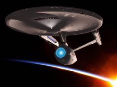 In a galaxy millions of light years from Earth, the Enterprise continues its eternal mission. Enterprise Ship, Uss Enterprise Ncc 1701, Star Trek Enterprise, Film Star Trek, Star Wars, The Enemy Within, Pretty Star, Star Trek Starships, Star Track