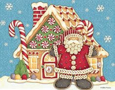 Debbie Mumm - Santa's Gingerbread