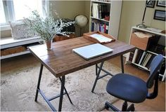 Create your own ikea desk