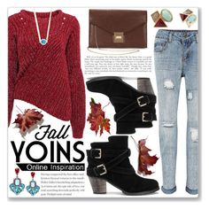 """""""Fall with Yoins"""" by enola123 ❤ liked on Polyvore featuring MustHave, fall2015 and yoins"""