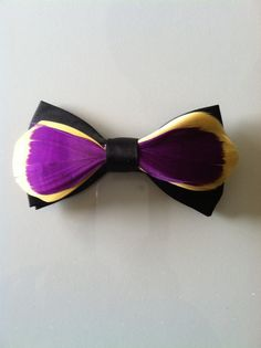 Feather bowtie by janlitlfeather on Etsy