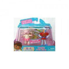 Doc McStuffins Doc's Toy Friends Lambie & Sir Kirby