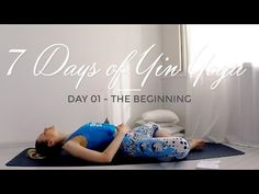 DAY 01 - The Beginning #7DaysOfYinYoga - YouTube
