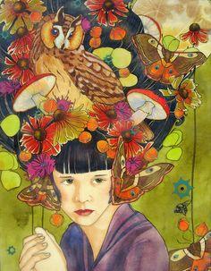 'Autumn Habitat' by Mary Alayne Thomas