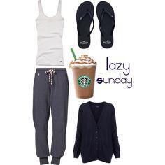 """""""Lazy Sunday"""" by rayban-converse on Polyvore #Sunday"""