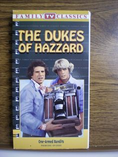 HA HA!!  Should get for Mandy.  Or a Goonies one would be good!! Recycled Notebook From Dukes Of Hazzard VHS by AutumnWindsJewelry, $8.00