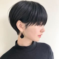 Hair Cuts Styles Pixie For 2019 Haircuts For Long Hair, Short Bob Hairstyles, Cool Hairstyles, Shot Hair Styles, Curly Hair Styles, Natural Hair Styles, Girl Short Hair, Short Hair Cuts, Ulzzang Hair
