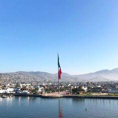 Bienvenidos a #Ensenada #MiAlmaGemela #BajaCalifornia #EnsenadaBC #DisfrutaBC #EnjoyBaja #AmoBC #ILoveBaja #VivaMéxico #México #Bandera #Playa #Beach #Mar #Sea #Aventura #BC Aventura por thelagirl