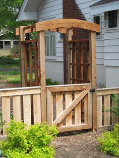 Making Bentwood Trellises, Arbors, Gates  Fences | Garden Guides