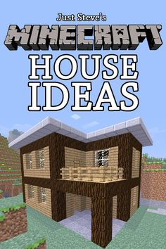 Minecraft House Ideas: A collection of blueprints for great house ideas in this Minecraft house guide by Just Steve ($2.99) - This book really helped me build cool houses in Minecraft. - Over all this book is a book for you if you like very self explaining books that are very easy to understand. - Recommended for beginners! http://www.amazon.com/exec/obidos/ASIN/B008EX6FX6/hpb2-20/ASIN/B008EX6FX6