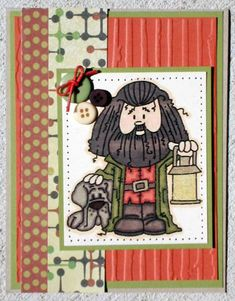 Bugaboo Stamps: Harry Potter   Hagrid by huera90 - Cards and Paper Crafts at Splitcoaststampers