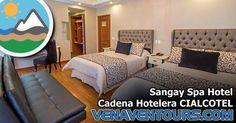 El Sangay Spa Hotel está situado junto a una impresionante cascada de 80 metros y en la calle de los más famosos baños termales de…