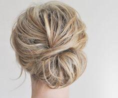 Penteados despenteados para levar a um casamento. #casamento #penteado #apanhado #despenteado #preso #convidada