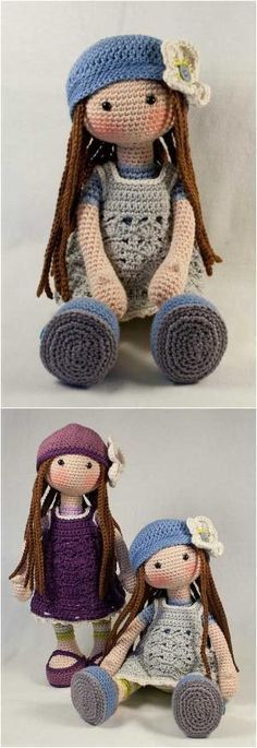 Lilly Doll from Etsy; she looks quite like Molly Doll - Amigurumi - Free Crochet Pattern by Linda Booth Giddings Thomas