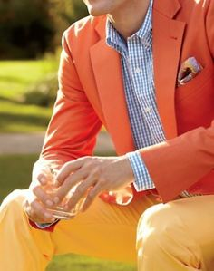 Orange, yellow and light blue are fantastic together.