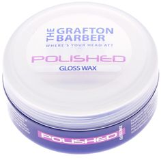 The Grafton Barber Polished - Gloss Wax to give maximum hold and definition to any style! #Hair #Men #Style