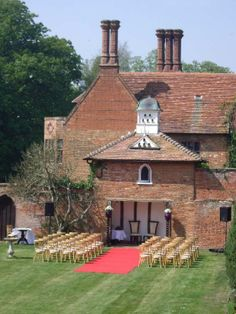 The Dovecote at Woodhall Manor wedding venue in Suffolk