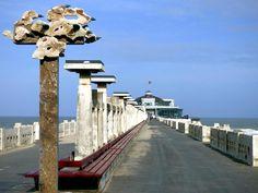 The pier in Blankenberge. by henri.van.den.abeele