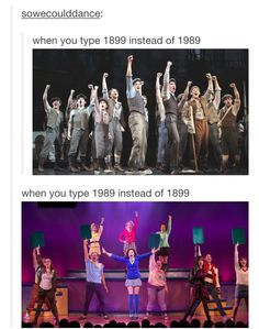 this is a taylor swift / theatre crossover (the original post was about ts 1989) and i love it