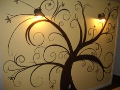 Finally painted my tree on the wall.