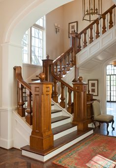 What a beautiful stairway!