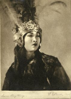 PORTRAITS OF ANNA MAY WONG FROM THE THIEF OF BAGDAD BY WILLIAM MORTENSEN
