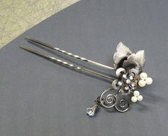 long ornamental hairpin
