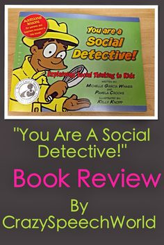 Crazy Speech World: You Are A Social Detective! {Review}