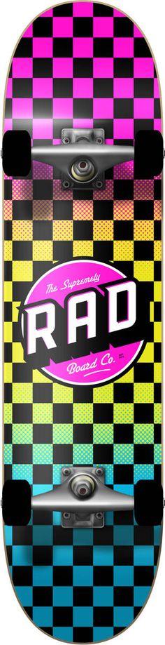 RAD Checkers Skateboard Komplettboard | SkatePro Skateboard, Anastasia, Filmmaking, Games, Skateboarding, Skate Board, Skateboards