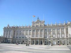 Palacio Real de Madrid. Spain