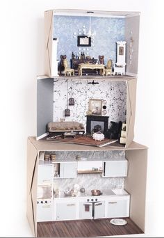 Fantasticness!! #dollhouse #diy #boxes #diorama