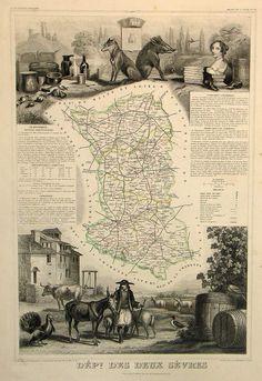 Carte Deux-Sèvres 79