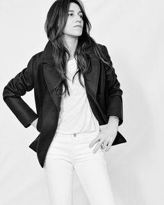 Charlotte Gainsbourg en Comptoir des Cotonniers, shootée par Sonia Sieff