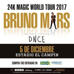 – The Magic Visitará Brasil, Argentina, Chile, Peru, Ecuador, Colombia, y Costa Rica A Partir de Nov 18. La boletería estará disponible el próximo 25 de septiembre para clientes AVAL