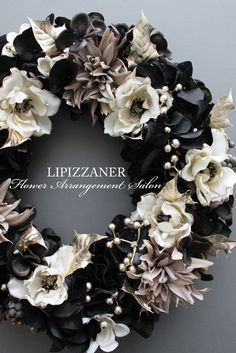 DiplomaコースNo.9Wreath Advanceのご案内です | LIPIZZANER Flower Arrangement Salon