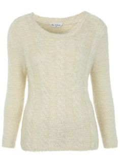 Fluffy Cable Jumper - View All  - New In