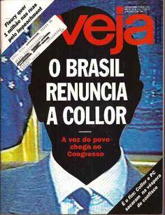 Revista Veja Agosto De 1992 O Brasil Renuncia A Collor - R$ 13,90 no MercadoLivre