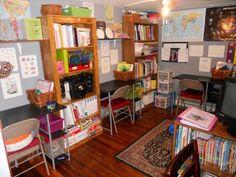 Another room setup.  homeschool room