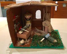 Suitcase, The Carpenters, Nativity Scenes, Xmas, So Done, Suitcases