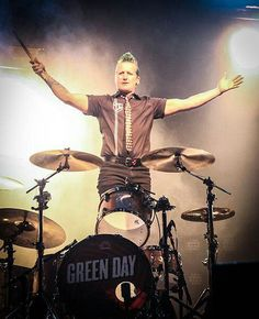 Tre Cool ~ Drummer of one of my favourite bands Green Day!!! <3 he's so amazing! <3