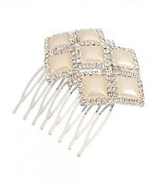 Square Shapes Hair Comb $14.00