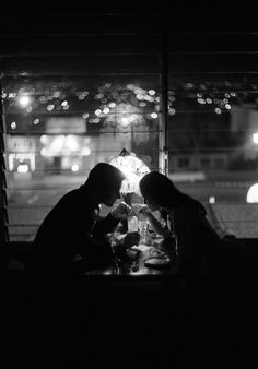 a low-lit dinner for two; when the world passes u by, and the only world that matters is centralized then and there