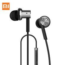 100% original xiaomi mi controle híbrido dual drivers fone de ouvido em fones de ouvido com fio microfone dinâmico e dois equilibrada-drivers de armadura(China (Mainland))