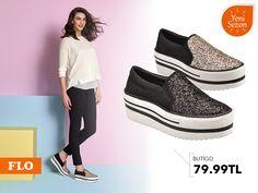 Slip-On'lara ışıltı katmaya ne dersiniz? #SS16 #newseason #summer #spring #ilkbahar #yaz #yenisezon #fashion #fashionable #style #stylish #flo #floayakkabi #shoe #ayakkabı #shop #shopping #women #womenfashion  #trend #moda #ayakkabıaşkı #shoeoftheday