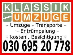 Umzug - Klassik Umzüge - Transport Rufen Sie an um einen kostenlosen Besichtigungstermin zu vereinbaren. Sodann erhalten Sie kurzfristig ein kostenloses Festpreisangebot. Oder füllen Sie einfach unser Calm, Transportation, Germany, Life, Simple