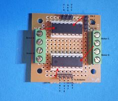 Picture of How to build an L293D Motor board controller for Arduino