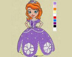 Elsa Frozen Embroidery design 4x4 pes hus jef dst vp3